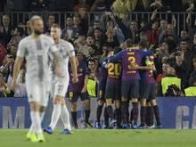 Der FC Barcelona gewann auch ohne Messi gegen Inter