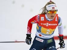 Therese Johaug gewinnt ihre vierte Goldmedaille