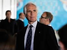 Giovanni Malago will mit UEFA-Präsident Aleksander Ceferin sprechen