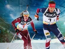 Björndalen und Domratschewa sind auf Schalke mit dabei