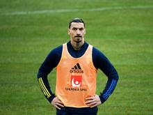 Zlatan Ibrahimovic fehlt Schweden verletzungsbedingt