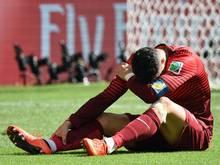Cristiano Ronaldo konnte Portugals Aus nicht verhindern