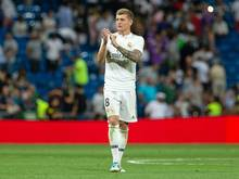 Keine UEFA-Auszeichnung für Toni Kroos