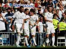 Real fuhr einen ungefährdeten 4:0-Sieg in Eibar ein