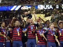 Die USA sicherten sich den Sieg beim Gold Cup