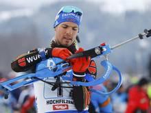 Biathlet Simon Schempp wird nicht bei der WM starten