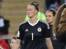 Almuth Schult fällt gegen Italien und Spanien aus