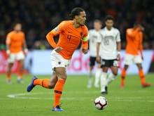 DFB-Team: Lob von Virgil van Dijk