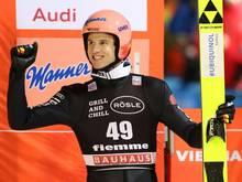 Feierte seinen zweiten Sieg in Folge: Karl Geiger