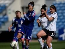 Yuki Ogimi (l.) schließt sich dem VfL Wolfsburg an