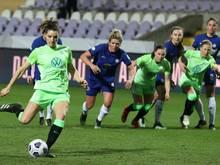 Die Frauen des VfL Wolfsburg stehen unter Druck