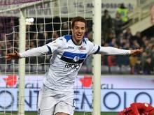Pasalic nach dem 2:0 für Bergamo