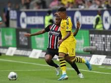 Dortmund verpasst gegen Frankfurt den Auswärts-Erfolg