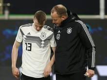 Lukas Klostermann musste verletzt ausgewechselt werden