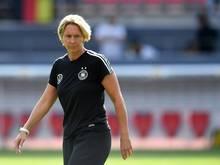 Die deutschen Fußballerinnen testen in Wembley