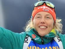 Bayern zeichnet Biathletin Laura Dahlmeier aus