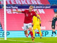 Auch mit seinem Tor konnte Erling Håland die Niederlage nicht verhindern