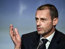 UEFA-Präsident Ceferin verurteilte sexistische Kommentare