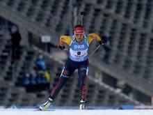 Denise Herrmann läuft in Nove Mesto auf Platz zwei