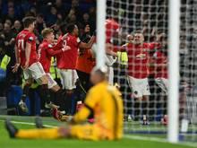 Manchester United feiert souveränen Sieg beim FC Chelsea