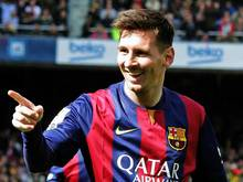 Lionel Messi und Barcelona bleiben auf Titelkurs