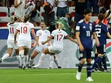 Ellen White trifft doppelt - England im Achtelfinale