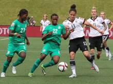 Deutschland gewinnt gegen die Elfenbeinküste mit 10:0