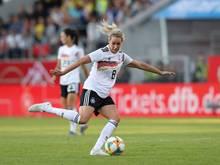 Lena Goeßling ist als Nationalspielerin zurückgetreten