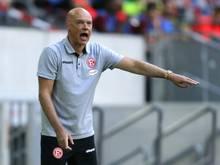 Düsseldorf gegen Regensburg ohne Zuschauer