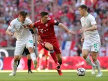 Bayern München nimmt gegen Bremen die Favoritenrolle ein