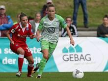 Freut sich auf das Viertelfinale der Champions League: VfL-Angreiferin Caroline Hansen