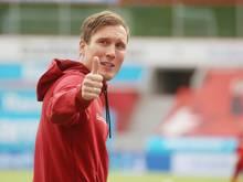 Hannes Wolf will mit Bayer Leverkusen erfolgreich sein