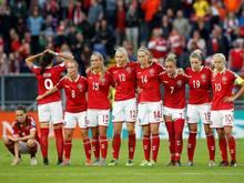 Die dänische Frauen-Nationalmannschaft wurde EM-Zweiter
