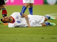 Vidal konnte beim Test gegen Ägypten nicht mitwirken