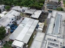 Unglücksort: Das Flamengo-Gelände im Luftbild