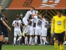 Gladbach feiert Sieg gegen den BVB und den alten Trainer