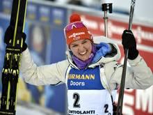 Spitzen-Biathletin Denise Herrmann
