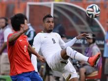 Kevin-Prince Boateng gewinnt mit Ghana gegen Südkorea