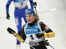 Die zweimalige Biathlon-Olympiasiegerin Magdalena Neuner