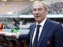 Zdeněk Zeman wirft in Cagliari das Handtuch