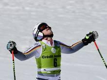 Viktoria Rebensburg scheidet beim Super-G aus