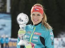 Gabriela Koukalova holte 2017 WM-Gold im Sprint