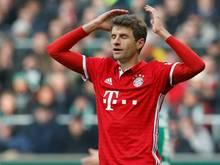 Müller war nicht zufrieden mit der Leistung gegen Bremen