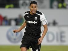 Mann des Spiels: Aziz Bouhaddouz mit einem Hattrick