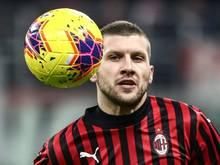 Ante Rebic schießt den AC Mailand zum Sieg
