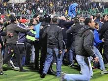 Bei der Stadion-Panik in Port Said starben 74 Menschen