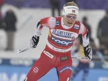 Therese Johaug gewinnt den Skilanglauf-Weltcup