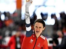 Martina Sablikova gelangen in Calgary zwei Weltrekorde