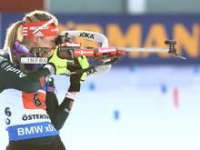 Auf Rang vier beim Weltcupfinale: Denise Herrmann
