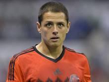 Javier Hernandez kann gegen Portugal nicht spielen